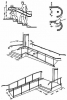 Примерный чертёж конструкции нормативного пандуса